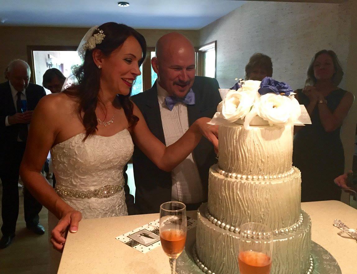Evelyn & Bob's wedding